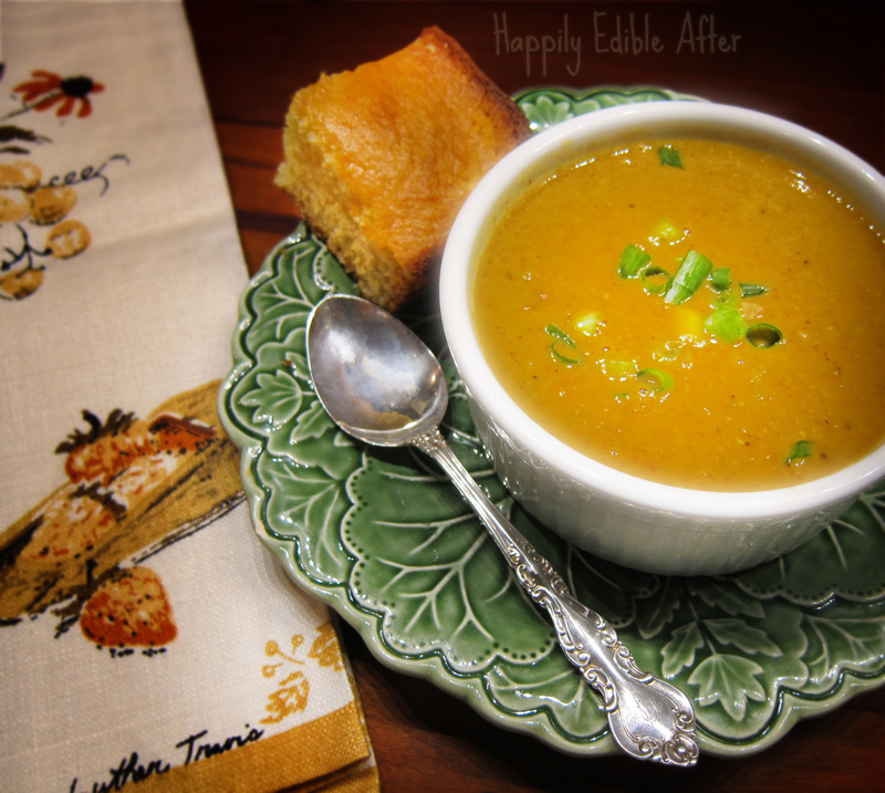 Happily Edible After: My Favorite Coconut Red Lentil Soup