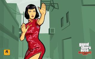 GTA 4 Chinatown Wars PC DLC Asian Babe HD Wallpaper Grand Theft Auto 5 V