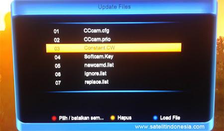 cara input biss key Skybox A5 HD