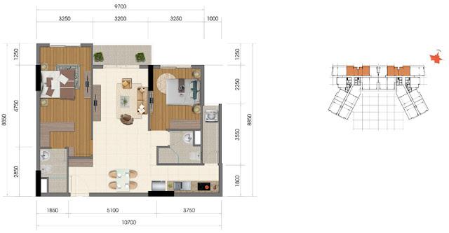 Dự án The Everrich Infinity Quận 5 căn hộ 1