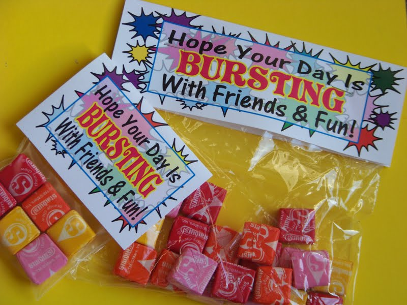 Starburst bag topper