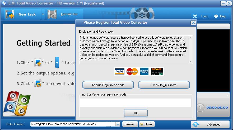 Download Total Video Converter 371 full Portable - Total