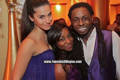 fotos raras de lil wayne con su novia dhea y su hija reginae