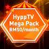 TM perkenalkan HyppTV Mega Pack pada harga RM50 sebulan