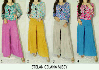 Stelan Celana Missy fit to XL