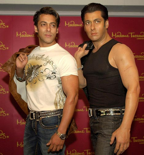 Salman Khan's Wax Model Wallpaper