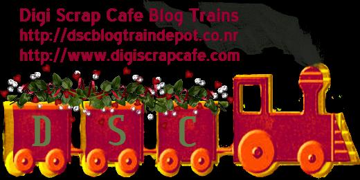 Digi Scrap Cafe Blog Trains