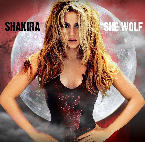 wolf hairstyle. hairstyles Shakira - Objection