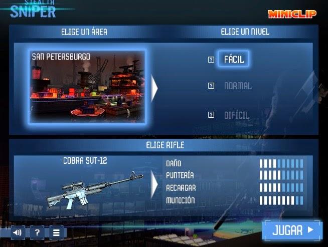 Juegos gratis de acción - Stealth Sniper