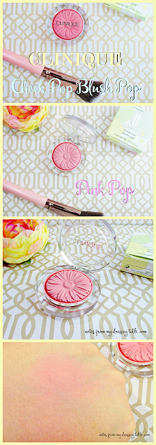 Clinique Cheep Pop Blush Pink Pop notesfrommydressingtable.com