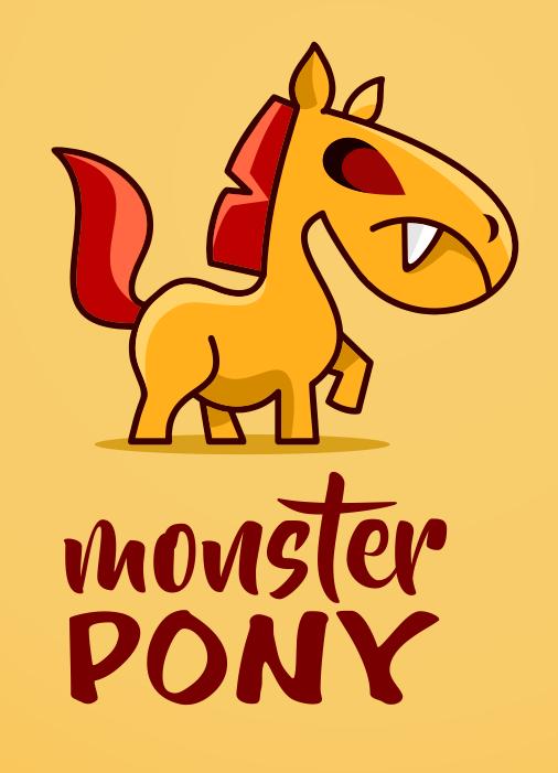Monster Pony Design