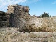 La Torre del castell des de l'interior
