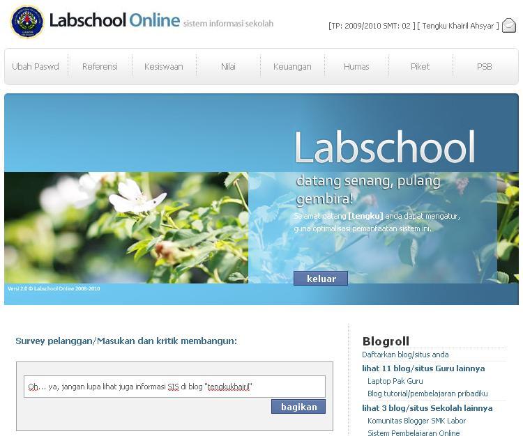 Sistem Informasi Sekolah Atas SMA/SMK/MA