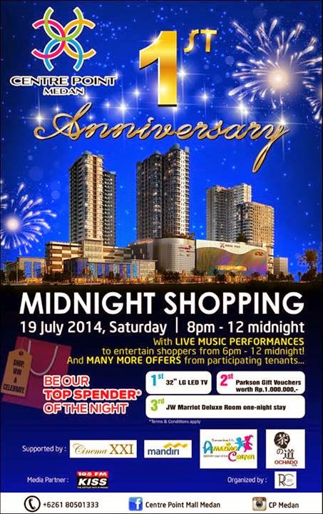 Midnight Shopping Centre Point Medan