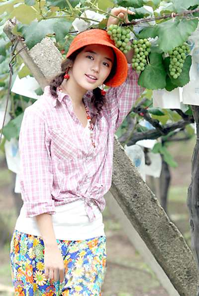 Yoon Eun Hye on the Vineyard Man