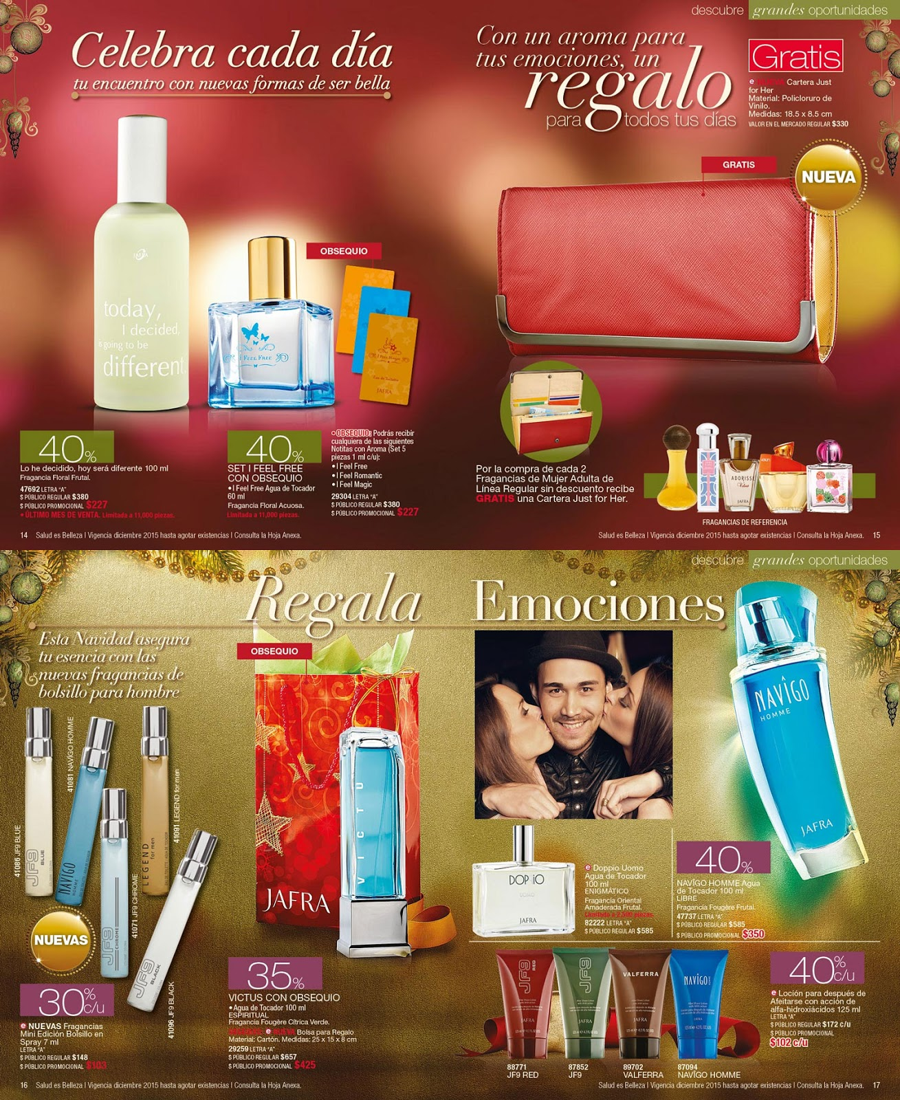 Linaje jafravic catalogo jafra oportunidades diciembre 2015 for Catalogo puntos bp