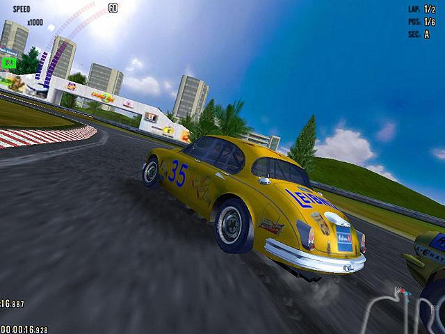 لعبة سباق السيارات القديمة Auto Racing Classics