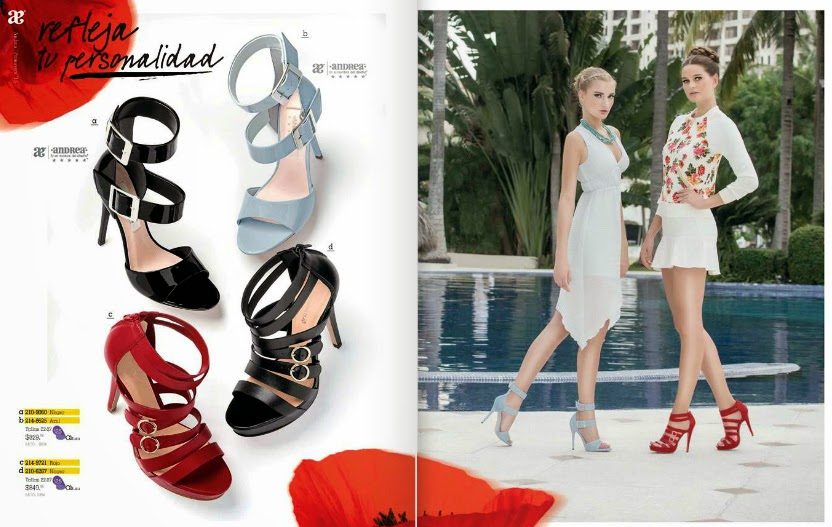 Zapatos Andrea primavera 2015 : sandalias