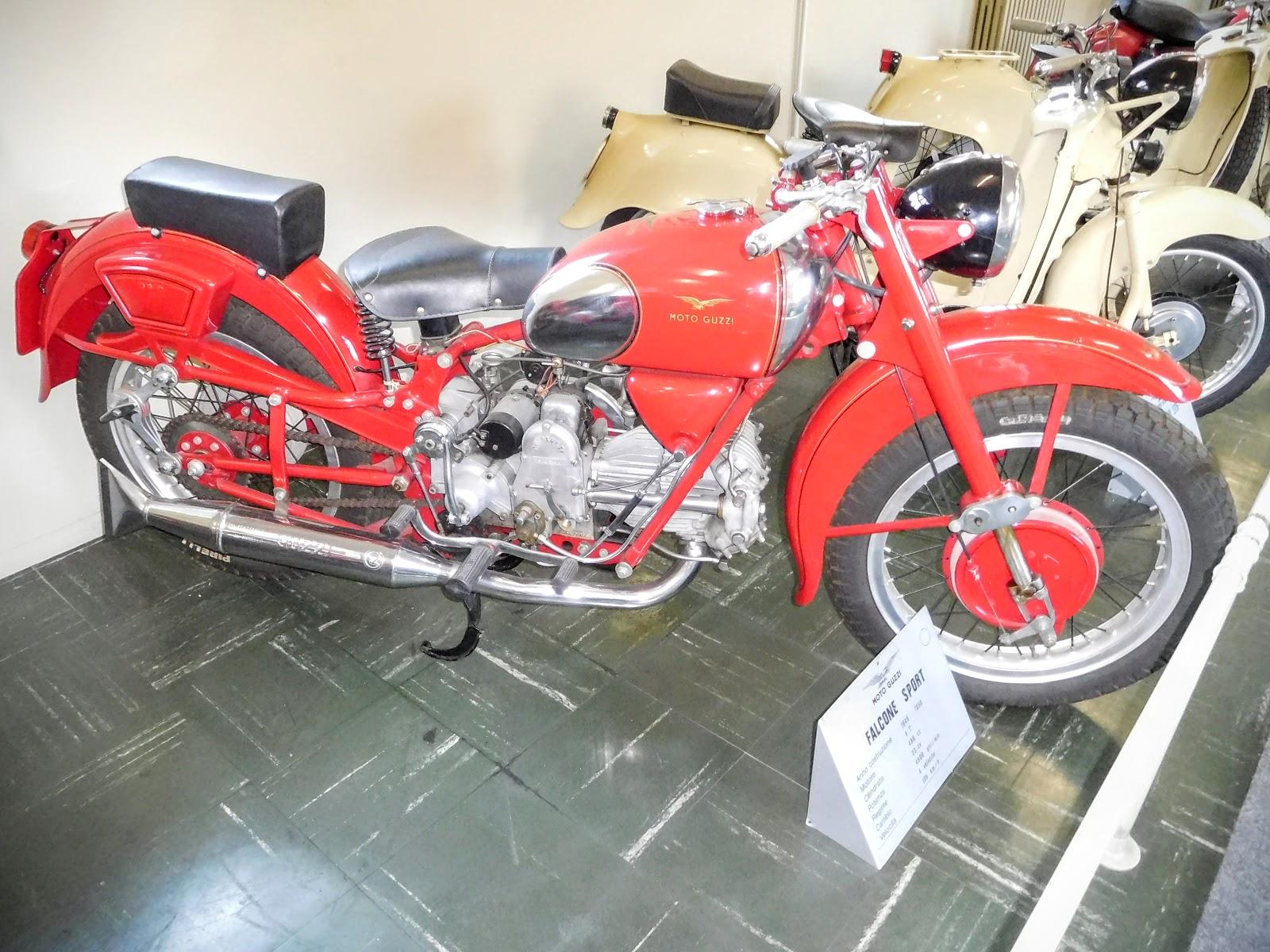 Tigho NYDucati: 1948-58 Moto Guzzi Falcone Sport