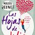 Las hojas de Julia. Maria Jeunet