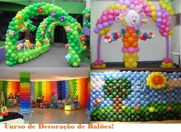 Curso de Decoração de Balões em Vitória ES
