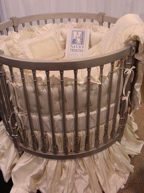 Designer Baby Bedding By Nava S Designs Ivory Quot Black Tie