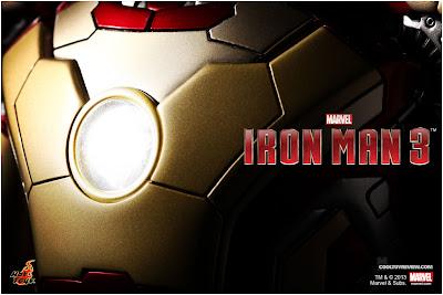 Hot Toys Iron Man 3 1/6 scale Figure Promo