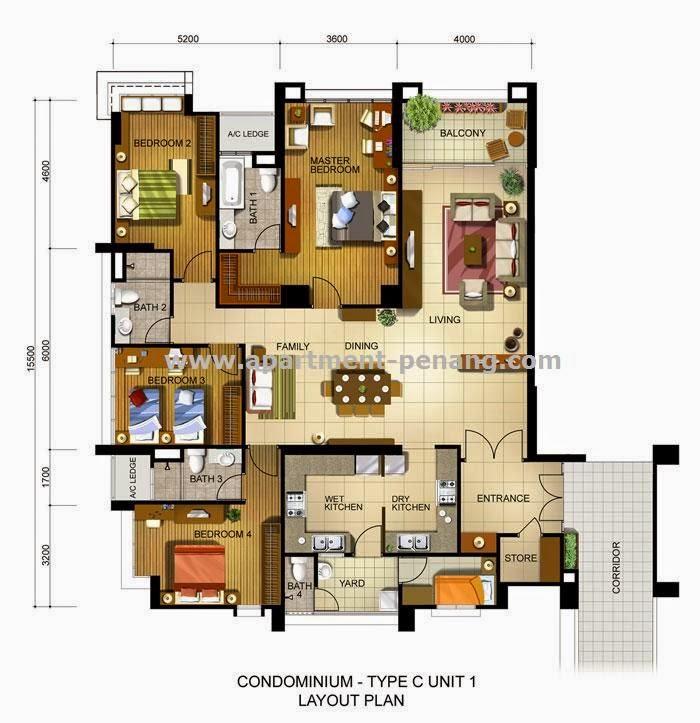 Fettes Residences Apartment Penang Com