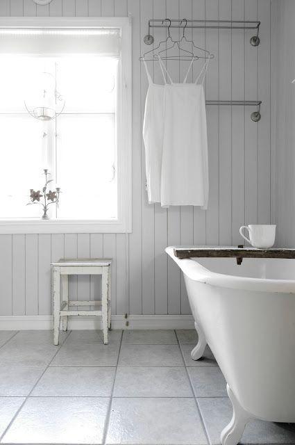 Vivre shabby chic un bagno da progettare - Rivestimento bagno shabby ...