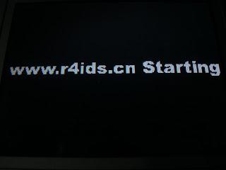 Comment faire quand R4i gold 3DS reste figée sur