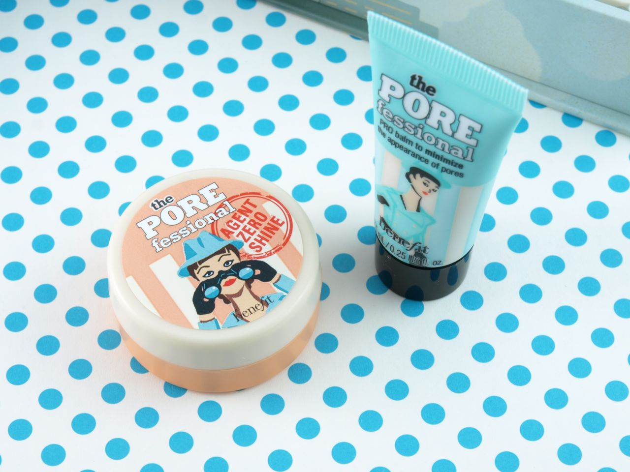 Benefit Mission Accomplished Pore Kit Review And Swatches The Operation Proof Left Porefessional Agent Zero Shine Right