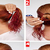 The Fishtail Bun Hairstyle Tutorial For Wet Hair - Wet Hairstyle Tutorial