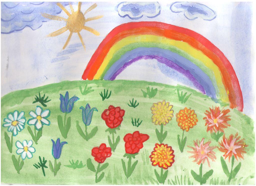 Детские рисунки про лето своими руками 53