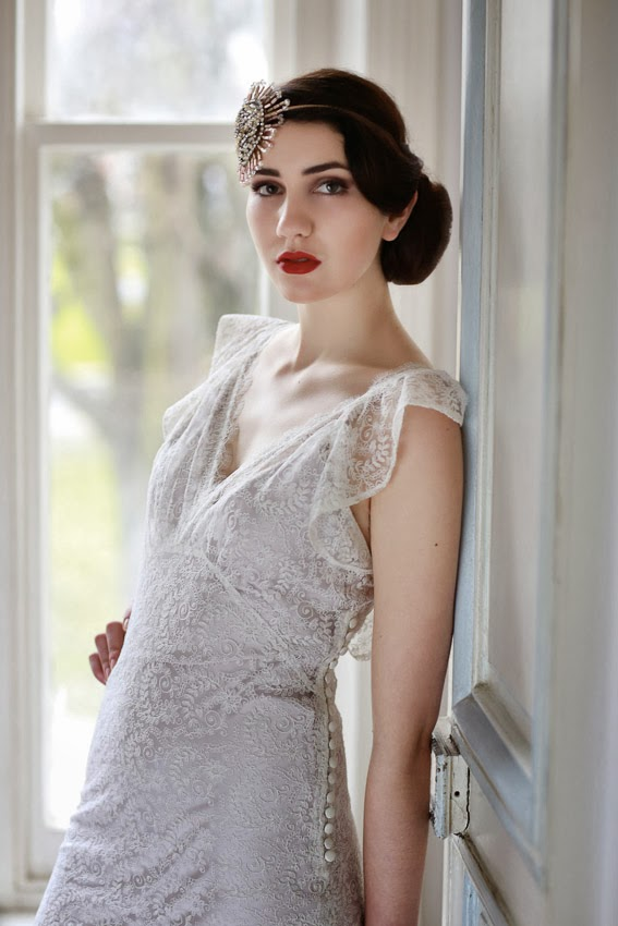 Butterfly 1930s Style Wedding Dress From My Heavenly Collection