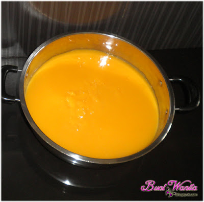 Resepi dan Cara Buat Puding Kastard Dan Jeli Agar-Agar Coctail Susu Sedap