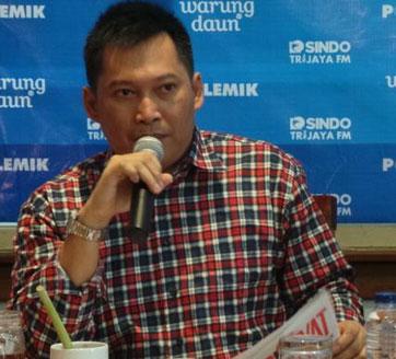 Pemimpin Redaksi Tabloid Obor Rakyat Setyardi Budiono