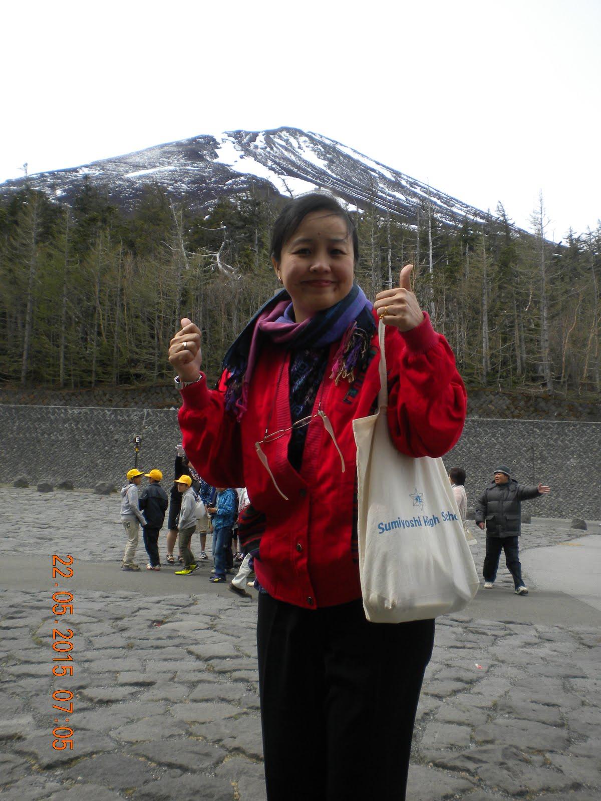 MOUNT FUJI- JAPAN MEI 2015