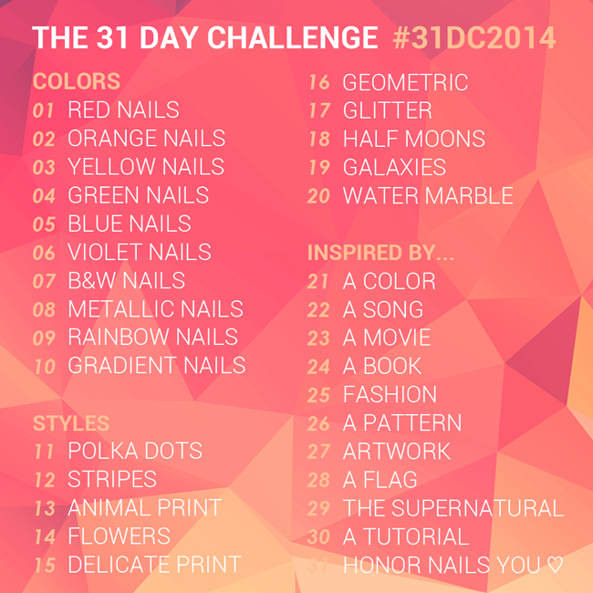 31 Day Challenge // The Nailasaurus