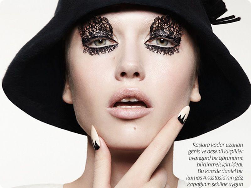 Anastasia Bondarenko by Jamie Nelson for Vogue Turkey Feb 2013