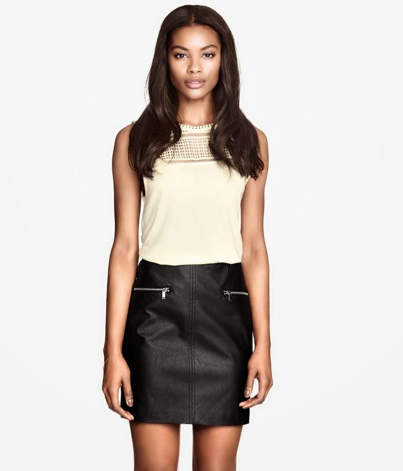 deri etek pantolon 2015 moda bilgilerburada 5 2015 Deri Etek Modelleri,mini deri etek kombinler,2015 deri modası bayan
