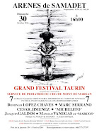 Manolo Vanegas, anunciado en el festival, de Samadet, el 30/10.