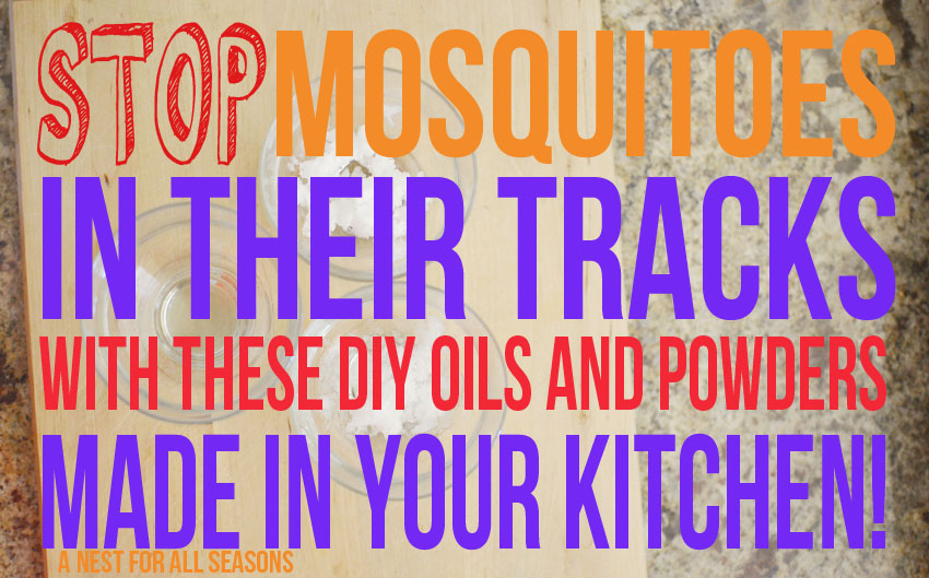 Stop Mosquitoes with Essential Oils