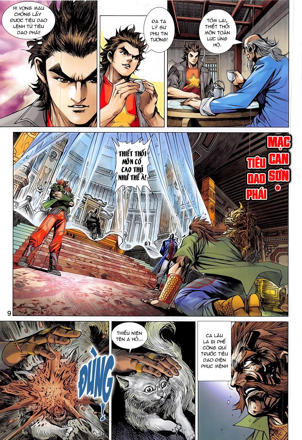 Tân Tác Long Hổ Môn chap 794 Trang 9 - Mangak.info