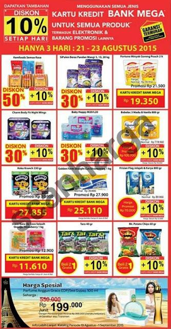 Promo Carrefour dan Katalog Giant Terbaru Bulan Ini