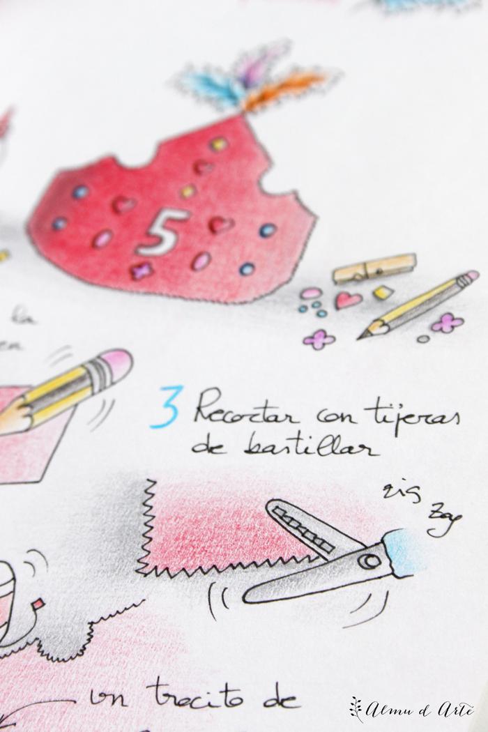 Ilustración tutorial diy