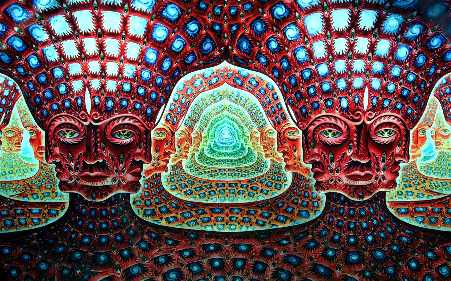 It s Tool  baby    so go get Aenima on and crank it up to LOUD    that    Gaia Alex Grey
