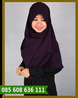 hijab segi empat lebaran