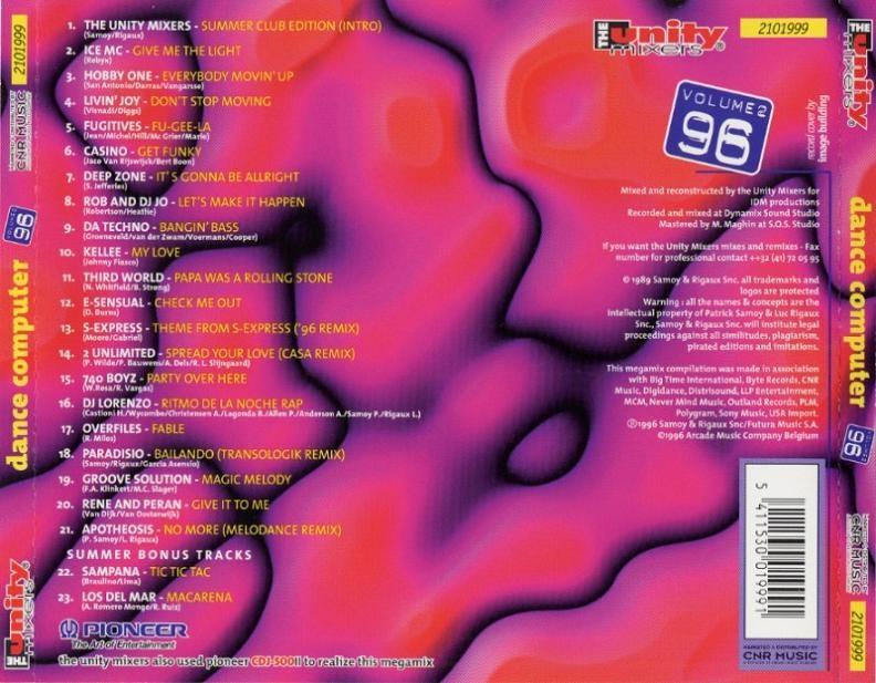 The Unity Mixers Dance Computer 95 2