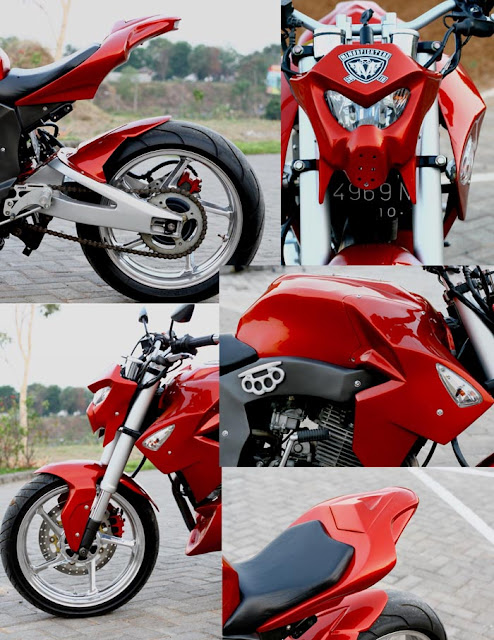 Artikel Terkait Modifikasi Honda Tiger Street Fighter : title=