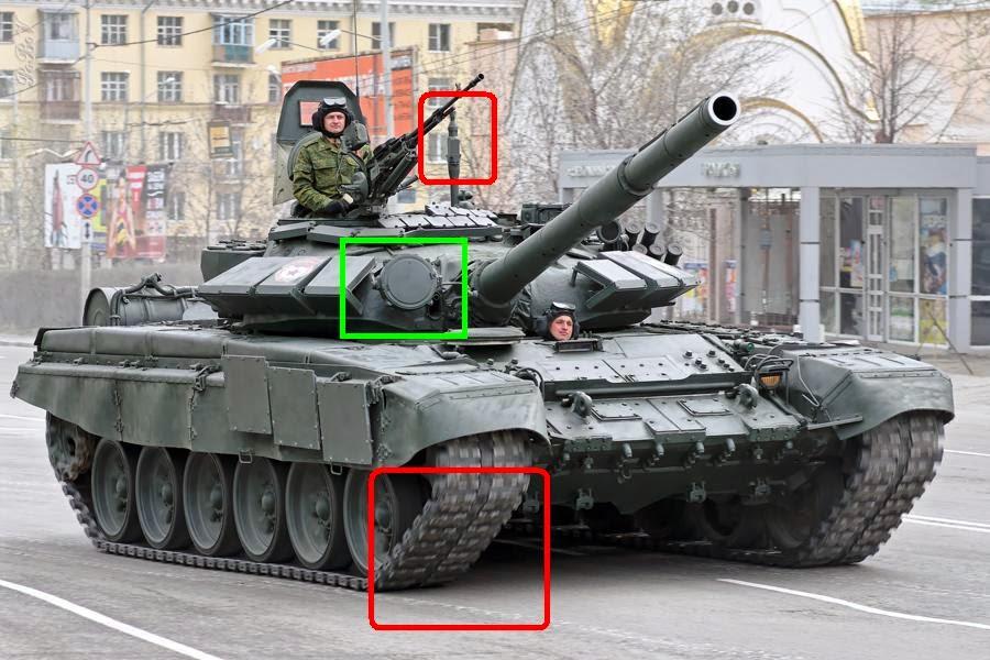 Russian tank T-72BA